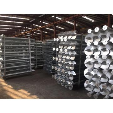 Solar Energy Mounting Ground Screw Piles