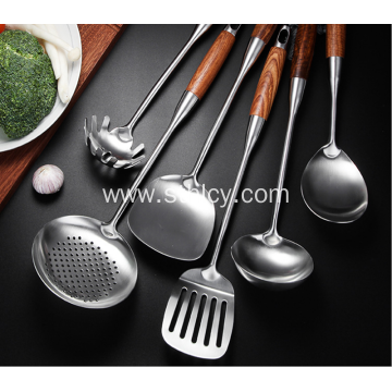 304 Stainless Steel Comfortable Cooking Spatula Fried Shovel