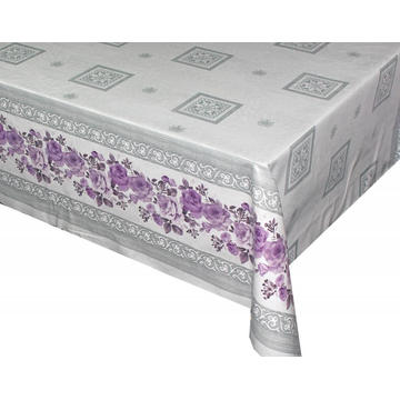 Elegant Tablecloth with Non woven backing Inch