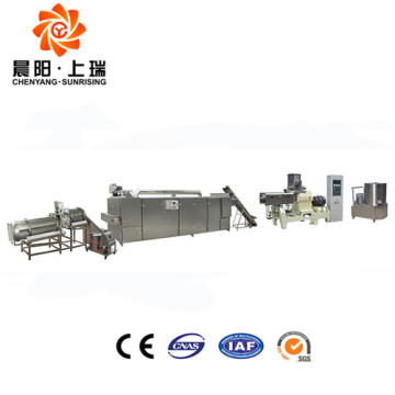 Twin screw extruder puffed snacks food machine