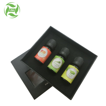 Private label ang logo essential oil gift set