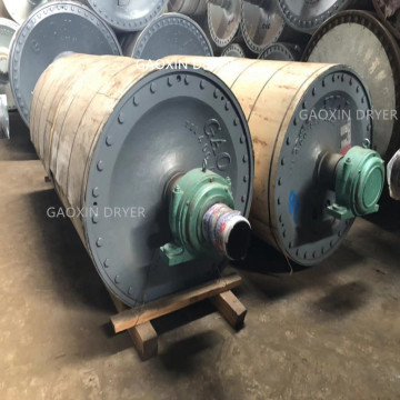 Steam high pressure dryer cylinder for paper industry