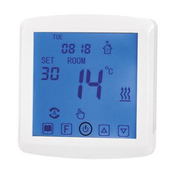 Touch Screen Programmable Underfloor Heating Thermostat