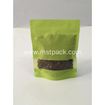 Rice Paper Stand Up pouch with Window