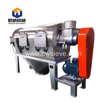 dry dairy powders industrial centrifugal screener