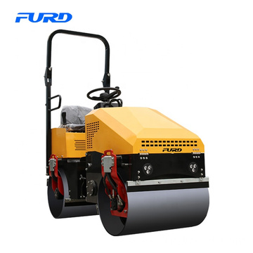 Double Drum Fully Hydraulic Vibratory Road Rollers