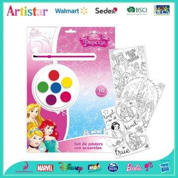Disney Princess painting set