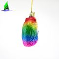 Holidays Colorful Unicorn Whale Ornament