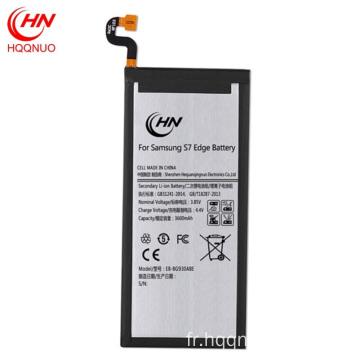 Wholesale rechargeable samsung S7edge batterie