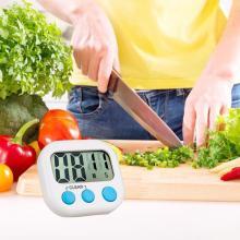 LCD Digital Display Kitchen Timer Square Kitchen Mini Alarm Clock Sleep Stopwatch Cooking Baking Loud Alarm Clock Timer