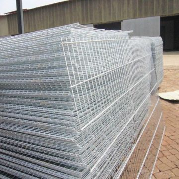 Good Security plastic coated welded wire mesh fence