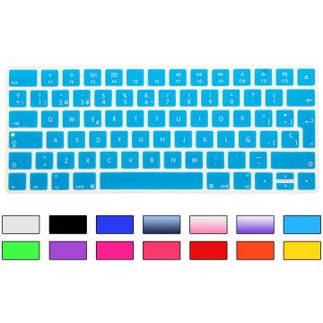 Spanish Keyboard Cover Silicone EU Euro ESP For New iMac Magic Magic 2 Bluetooth Keyboard PC Computer Skin Protector