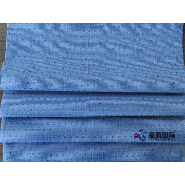 Yarn Dyed Cotton Fabric Blue Clothing Fabric