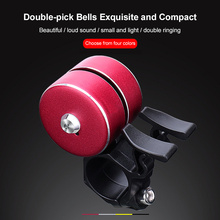 Bicycle Bell Alloy Mountain Road Bike Horn Sound Alarm For Safety Cycling Handlebar Metal Ring Bicycle Call Bike Accessories
