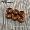 M3 anodized colored aluminum countersunk  washer