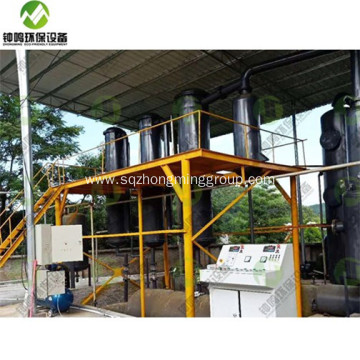 Auto Plastic Pyrolysis to Fuel Oil Equipment