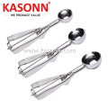 3 PCS Stainless Steel Ice Cream Scoop Set
