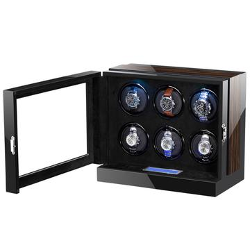 6 Watch Winder Box With Touch Screen