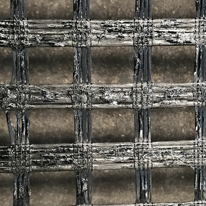 Self Adhesive Glass Fiber Biaxial Geogrid