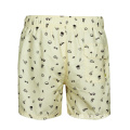 Adult Polyester Sports Drawstring Short Beach Men Pants