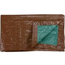 PE Tarpaulin Sheet Light Brown