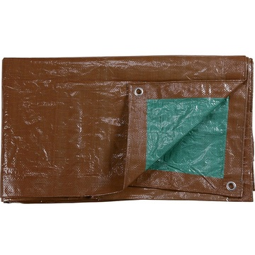 Brown Color  PE Tarpaulin Sheet