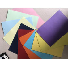 wrapping color card paper