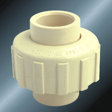 ASTM D2846 Water Supply Cpvc Union Milk Yellow