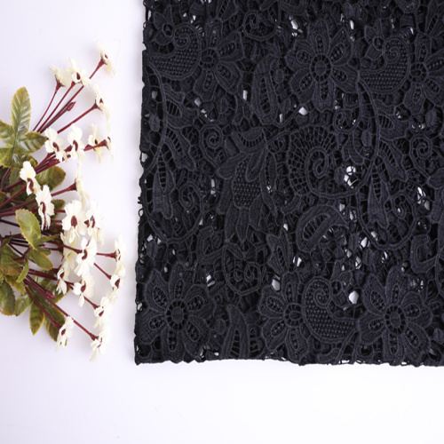 Fancy Design Chemical Lace Fabric For Woman Garment