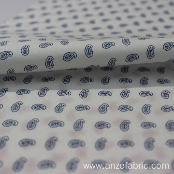 100% cotton poplin paisley pattern fabric for garment