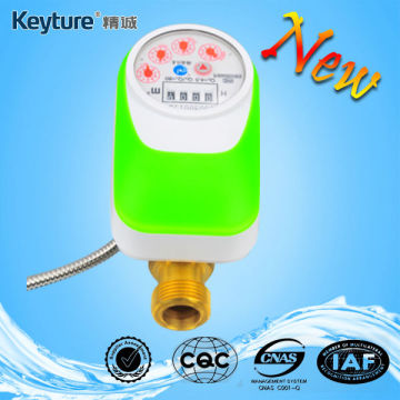 Direct Reading Electronic Valve Control Water Meter Green