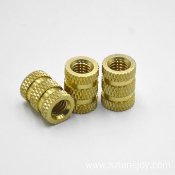 OEM Threaded Knurled Brass Insert Nut