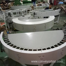 180 Degree Turning Curve Belt Conveyor Systems