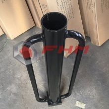 Paint Red Manual Metal T Post Driver