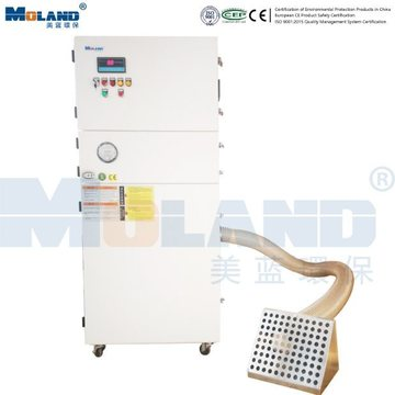 Laser Cutting Machine Fume Extractor Dust Collector