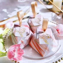 Pink Malaysia luxury candy packaging box