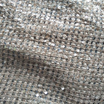 reversible sequin polyester fabric price per meter fabric