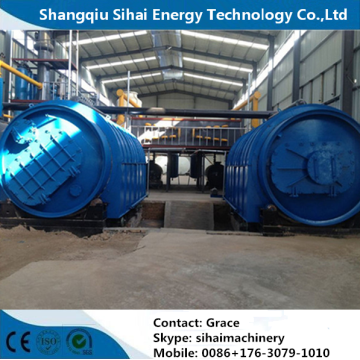 Factory Price Waste Tyre  Recycling Machine