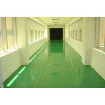 Epoxy mortar self-leveling floor