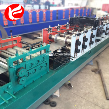 Window door guide rail roll former making machine