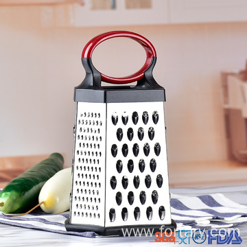 6 Sided multifunctional manual cheese stainless steel grater