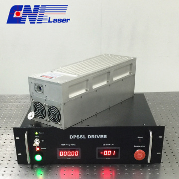 Short pulse duration 355nm Q-switched marking laser