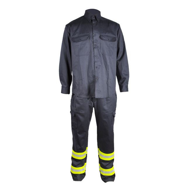 100% Cotton Fr Welding Suits For Welders Workwear