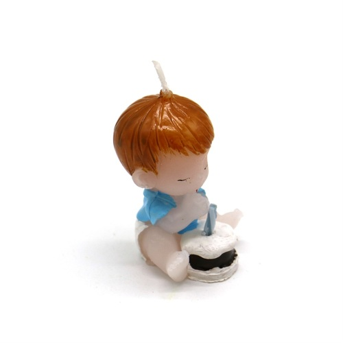 Angel baby decorative personality small candle