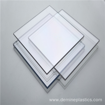 Hard plastic polycarbonate sheet anti static machine panel