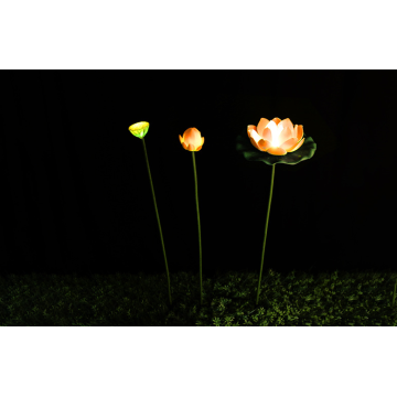 leaf lamp low voltage waterproof lotus lamp
