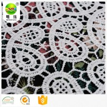 Milk silk chemical lace embroidery fabric