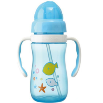 Plastic Baby Water Drinking Bottle Training Cup
