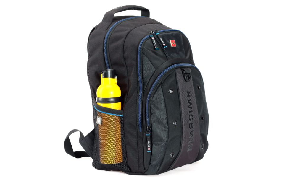 Balck Backpack Bag Water Resistant