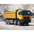 Shacman 8X4 340 HP sand tipper truck for sale with weichai engine shacman truck